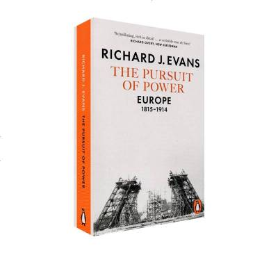英文原版 企鵝歐洲史第七部 英國版 The Pursuit Of Power 競逐權利 1815-1914年 歐洲發