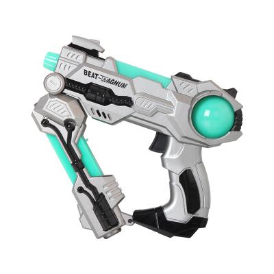 阿海创意儿童变形玩具枪 发光发声变形语音太空枪53-003