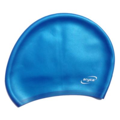 苏宁好货硅胶泳帽女长游泳帽大号游泳帽成人水泳帽护耳舒适男大头泳帽聚兴新款