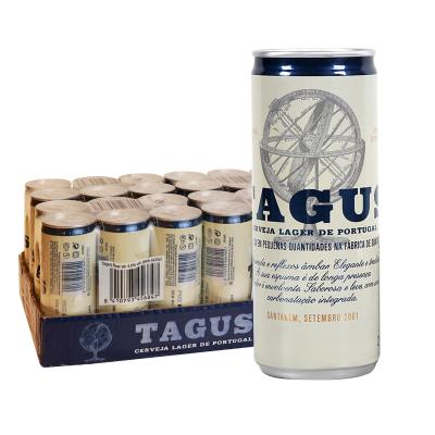 欧洲进口泰谷拉格黄啤酒250ml*24听装特价清仓