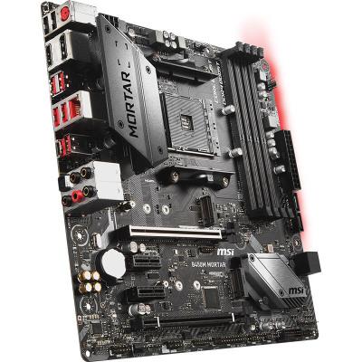微星 B450M MORTAR 迫擊炮 AM4接口 電競游戲臺式機電腦主板支持AMD銳龍2600 2700X