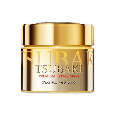 【0秒高渗透发膜】SHISEIDO资生堂旗下 TSUBAKI丝蓓绮金色发膜180克