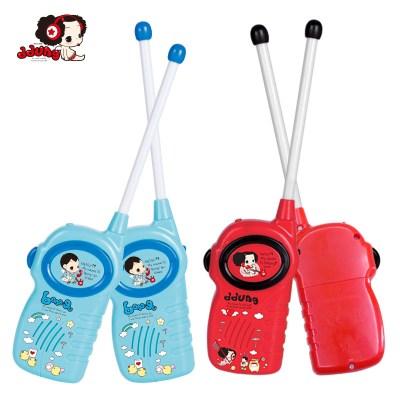 冬己玩具兒童對講機戶外機無線通話對話機男孩女孩對講電話機一對FDE382(紅色)285*195*30塑料,3歲以上