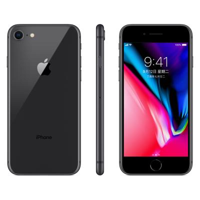 苹果(Apple) iPhone 8(A1863)128GB 深空灰 移动联通电信 全网通 4G手机 智能手机