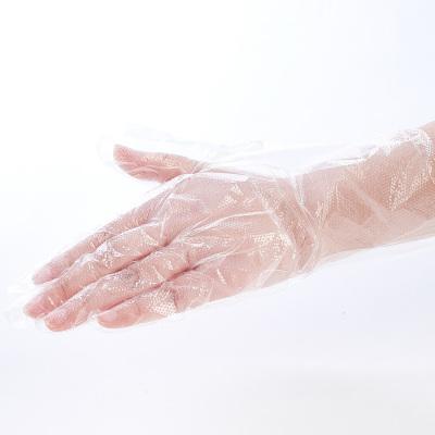 【2盒】江赫(QJMDM)医用检查手套一次性薄膜透明防滑防水塑料家用清洁防护卫生食品餐饮手套100只装医用手套
