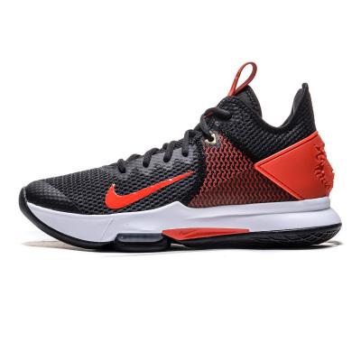 NIKE耐克男鞋篮球鞋詹姆斯实战训练气垫缓震运动鞋CD0188-003