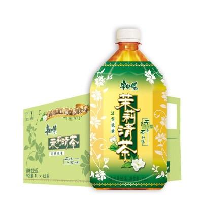 康师傅 茉莉清茶1L*12瓶 箱装 茶饮料