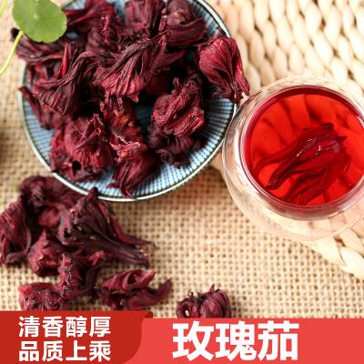 云南干洛神花茶玫瑰茄干花茶叶特级天然无硫组合花果茶散装