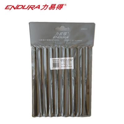 力易得(ENDURA)10件套什錦銼 4x160mm E9031 1個