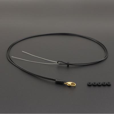 。黑红绳子蜡皮绳项链绳吊坠挂绳女士儿童 珠玉佩挂坠挂件