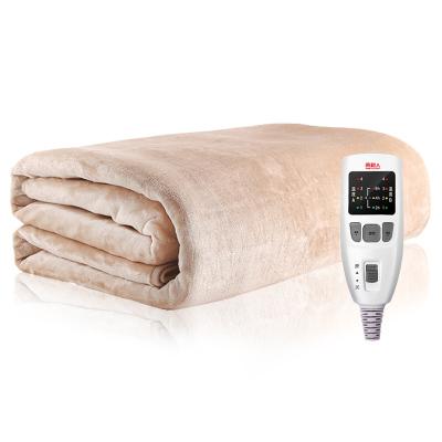 南極人 雙人電熱毯 電褥子 法蘭絨 雙控雙溫 安全保護 除濕排潮 1.8*1.5米