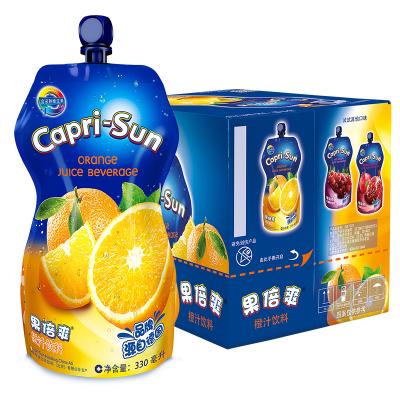 果倍爽橙汁飲料330ml*15袋 整箱