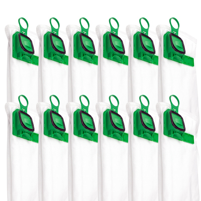 艾德加適配福維克吸塵器配件VK140/150/FP-140塵袋垃圾袋灰塵袋 12只裝
