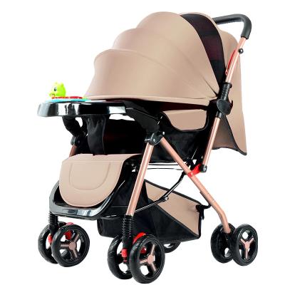 【蘇寧推薦】嬰兒推車可坐可躺簡易折疊輕便攜帶手推車嬰兒車寶寶傘車雙向童車