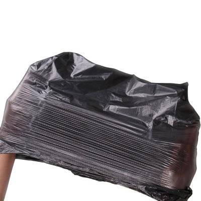 【手提黑色加厚大號垃圾袋 50只【特別加厚款】10卷裝】手提黑色加厚大號50只垃圾袋號彩色家用酒店背心式塑料分類