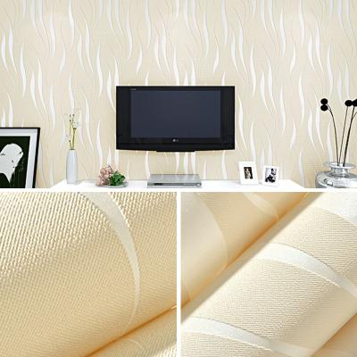 家用環保自貼墻紙自粘臥室閃電客歐式客廳壁紙3d立體網紅電視背景墻貼紙 7066淺粉色5米*0.53米 僅墻紙