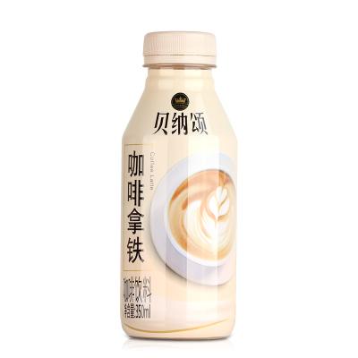 貝納頌咖啡拿鐵咖啡飲料350ml*15瓶