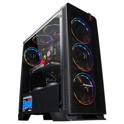 攀升 i5 9400F/GTX1650 4G/256G M.2/8G 英特爾酷睿i5創意設計臺式機 吃雞游戲主機 臺式機 組裝機 電腦主機
