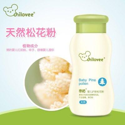 親諾(chilovee)嬰兒護膚松花粉 70g 痱子粉 護臀 預防紅屁屁 濕疹 尿布疹 熱痱 不含滑石粉