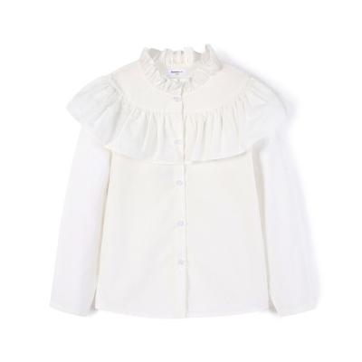 【1件5折】巴拉巴拉女童衬衫儿童衬衣长袖春季2019新款中大童童装纯棉上衣女