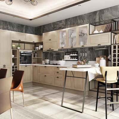 欧派整体橱柜定制开放式厨房装修厨柜定制翡丽15800元套餐预付金