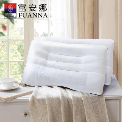 富安娜(FUANNA)家纺圣之花枕芯正品决明子枕头成人单人夏季单只助睡眠护颈椎一对拍2