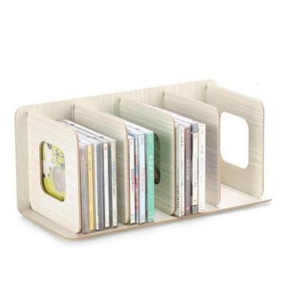 蘇寧放心購唱片多功能創意小書立CD擺放DVD客廳家具韓國店整理碟片收納架A-STYLE
