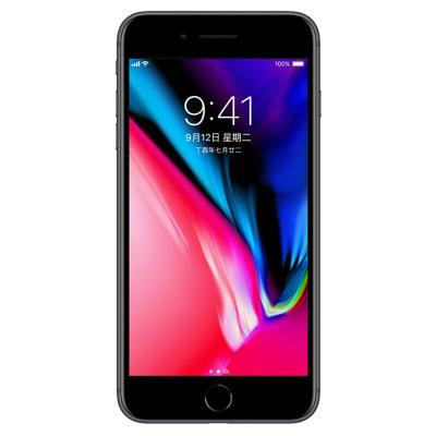 【全新正品】Apple/iPhone8 Plus 美版【有锁裸机】未激活移动LTE 电信4G手机 深空灰64G(配卡贴)