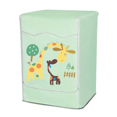 千莎 海爾西門子小天鵝博世LG三星滾筒洗衣機罩防水防曬防塵罩全自動滾筒專用5 6 7 8 9 10公斤罩洗衣機套子