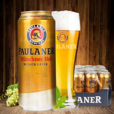 【清倉6月到期】德國啤酒柏龍保拉納大麥啤酒拉格啤酒500ml*24聽