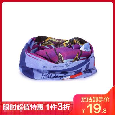 TFO 男女通用款 百變多功能 易收納 速干透氣 吸汗運動 魔術頭巾