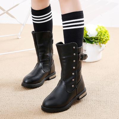 邁凱恩品牌2019秋冬季新款女童靴韓版兒童靴中大童公主鞋小女孩馬丁靴雪地靴