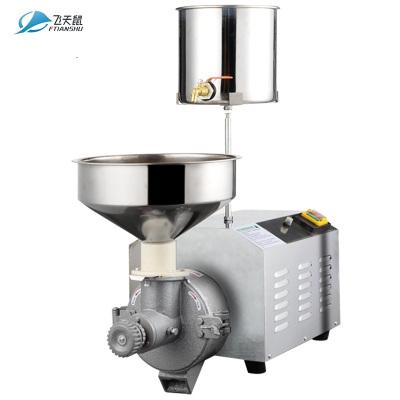 飞天鼠(FTIANSHU) 商用磨浆机米浆机肠粉打浆机电动家用全自动磨米机130台式