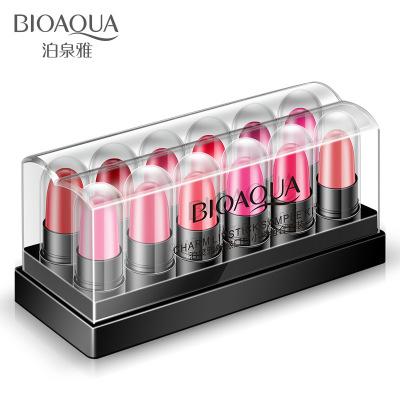 泊泉雅魅惑口紅小樣套裝12支 持久滋潤保濕唇彩不易脫妝唇膏