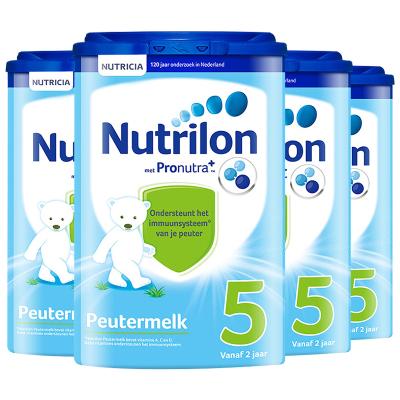Nutrilon 荷蘭牛欄 諾優能 嬰幼兒奶粉 5段 2歲以上 800g/罐 紙桶裝 四罐裝