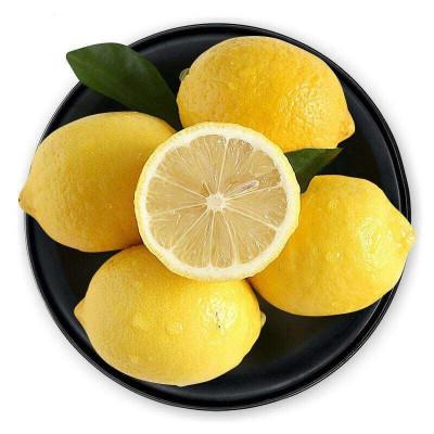 苗家十八洞 四川安岳黃檸檬5斤裝 單果果重70g起步 個大飽滿