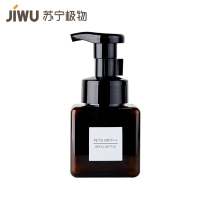 苏宁极物四方泡沫型替换瓶250ml(棕色) 棕色+250ml