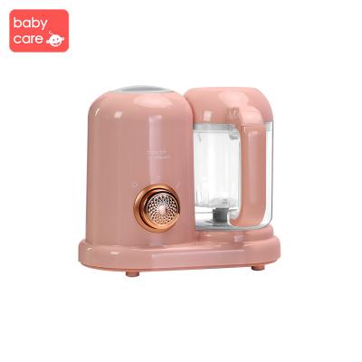babycare嬰兒輔食機 寶寶多功能蒸煮攪拌一體機 輔食料理機研磨器 經典款-檳粉4520