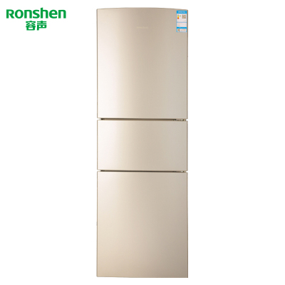 【99新】 容聲(Ronshen) 三門冰箱BCD-251WKD1NY三門冰箱小型家用風冷無霜電冰箱靜音節能251升
