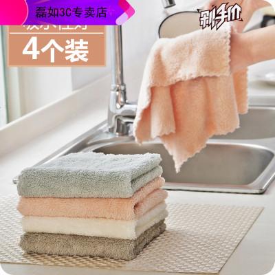 HKNR 加厚洗碗布廚房用品擦桌毛巾家務清潔布不掉毛去油吸水抹布需要型號咨詢客服