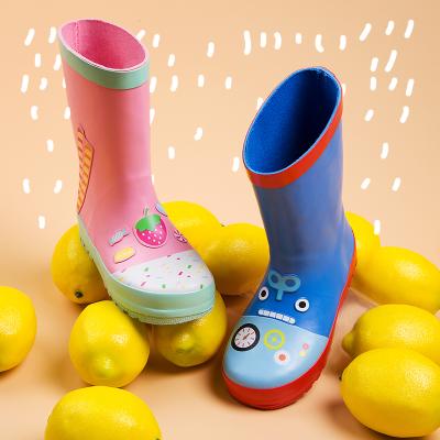 兒童雨鞋雨靴男童女童水鞋寶寶幼兒園防滑小學生小童公主雨衣套裝