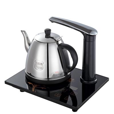阿尔玛自动上水壶电热水壶电动抽水烧水壶自动加水电茶壶茶具套装