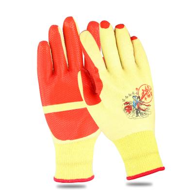 牛郎星勞保手套 膠皮手套 防滑手套 膠片手套 男女戶外手套線手套 12付/包