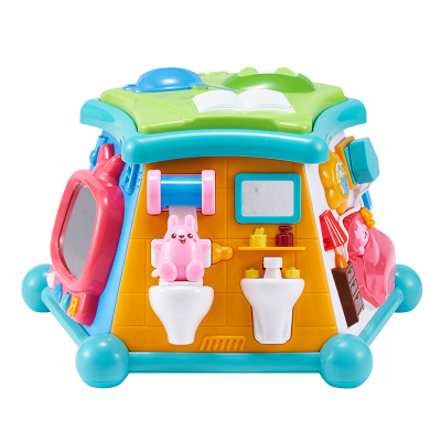 澳贝(AUBY)益智玩具 体验馆 启智婴幼儿童声光音乐早教场景塑料玩具50块以下(块数)6-12个月