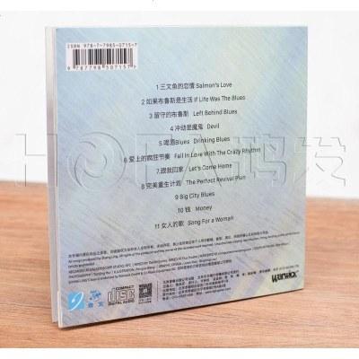 正版   張嶺/張嶺:喝酒Blues(CD) 2016新專輯 藍調