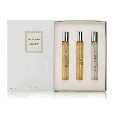 Van Cleef & Arpels梵克雅宝香水 (月光广藿 琥珀帝国 栀子花瓣)香氛套装/礼盒 花果香调 法国原装进口
