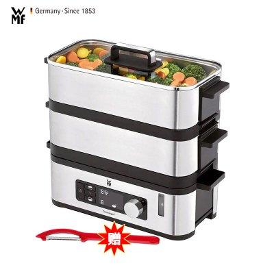 德國WMF 電蒸鍋 時尚電蒸爐小型家用二層機械式不銹鋼多功能鍋智能電蒸籠蒸包子蒸菜爐