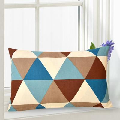 长方形靠垫抱枕套不含芯床头长条大靠背腰靠客厅沙发全棉靠枕定做 粉红色 love 40*70cm不含芯
