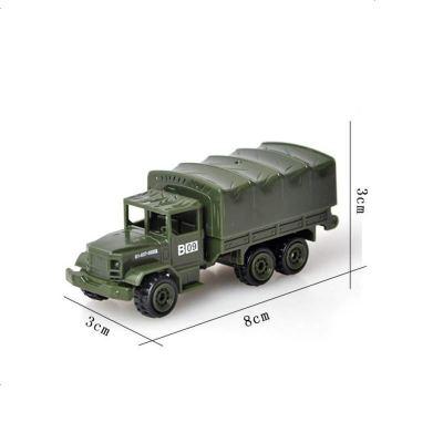 运输卡车全新军事模型系列 合金军车 1:72装甲坦克战车运兵卡车 兵人场景