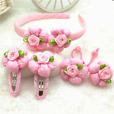 搭啵兔兒童發夾發飾品女童發箍發圈發卡小女孩扎頭裝頭花公主橡皮筋